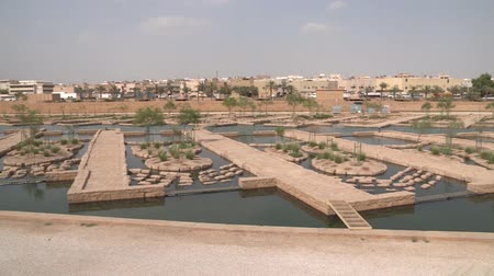 ближневосточный : Wadi Hanifa Wetlands in Riyadh