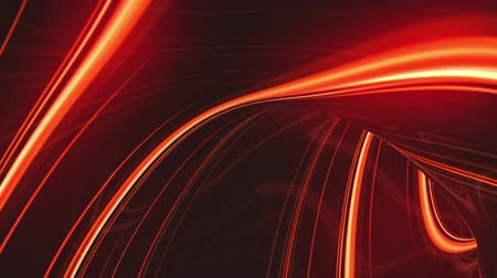 Abstract three-dimensional animation background, glowing lines, waves of energy. Seamless loop able.