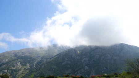 ruinous : The view from the mountains in Montenegro from Fort Gorazde. Kotor Bay, the mountains of Montenegro Airport.