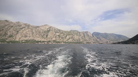 yugoslavia : Boat trip in the Bay of Kotor, Montenegro