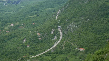road tunnel : Railway tunnel in the mountains. Railway in Montenegro.