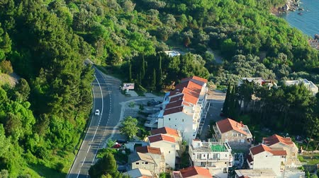 amalfi : The road near the sea in Montenegro.
