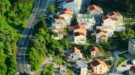 linha de costa : The road near the sea in Montenegro.