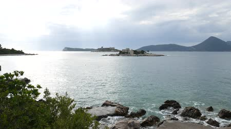 austro hungarian : Mamula Island, a former concentration camp in Montenegro, the Adriatic Sea