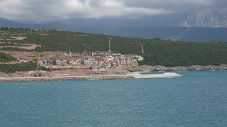 adriático : Construction of the elite areas of Montenegro with its own marina - Lustica Bay
