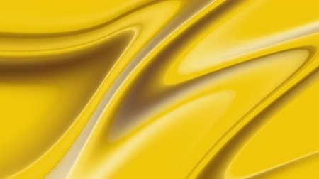 szövetek : Golden wave background. Abstract seamless loop animation of gold liquid background. Gold texture. Cloth, velvet, lava, nougat, caramel, amber, honey, oil. Stock mozgókép
