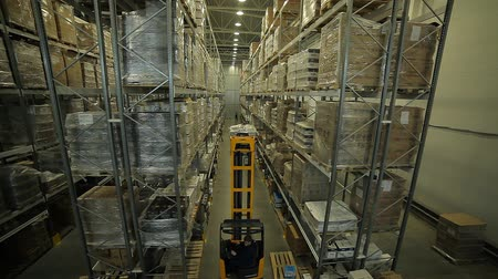 dağılım : Modern large warehouse and loader