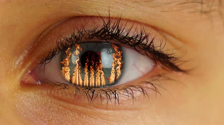 szatan : Fire in Human Eye