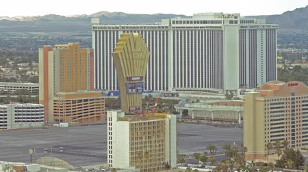 nevada : Time Lapse of Cityscape in Las Vegas -Zoom Out-