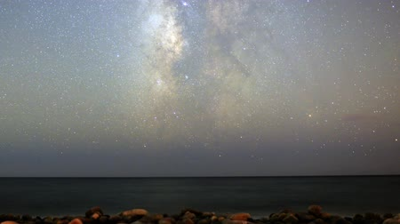 relaks : Motion Control Dolly Astro Time Lapse of Milky Way Seascape -Zoom In-