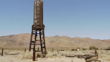abandoned old : Ghost Town in the Desert