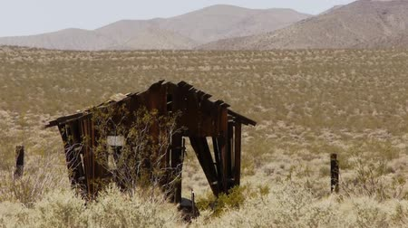 trona : Pinnacles Desert Landscape Stock Footage
