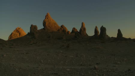 trona : Pinnacles Sunset Time Lapse