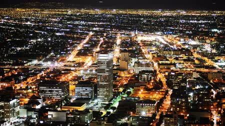 fari : LA Night Cityscape Time lapse