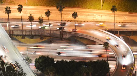semafori : Downtown Freeway Time lapse del traffico