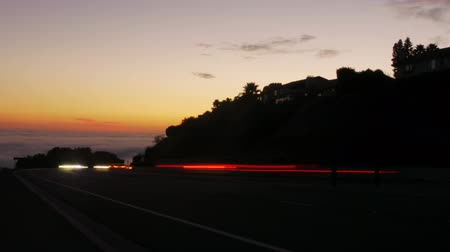 nostalgisch : Sunset Traffic Time Lapse