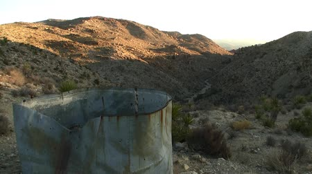 bouldering : Mining Ruin at Sunrise in Joshua Tree Time Lapse