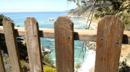 небесный : Motion Control Dolly Shot of Tropical Cove in Big Sur Dolly Up Left