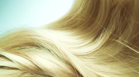 красные волосы : Highlight blond hair texture background