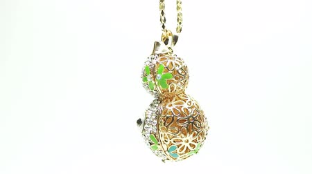 boncuklar : Jewelery beads necklace with bright diamond crystals