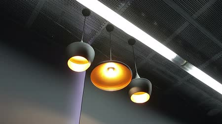 nowoczesne : lamp light on Ceiling in modern interior