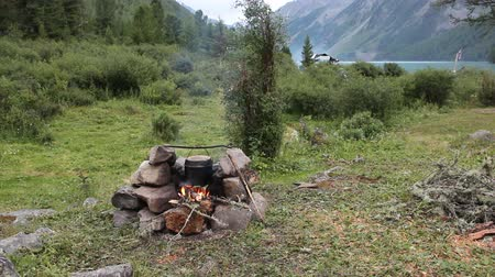 hearth : Altai Mountains, Russia