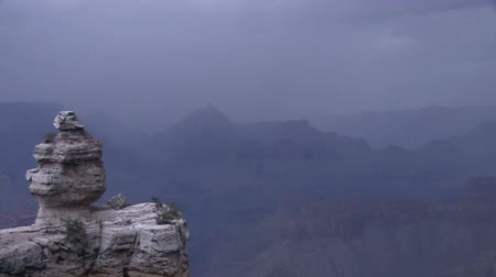 usa : Monsoon Storm at Grand Canyon Dostupné videozáznamy