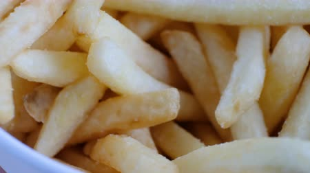 Portion of french fries, macro shot