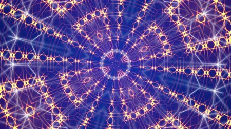 caleidoscópio : abstract blue motion background, kaleidoscope