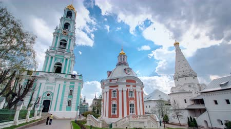 tome : Great monasteries of Russia timelapse. The Trinity-Sergius Lavra.
