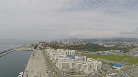 krasnodar city : Aerial view of Sochi, Adler.