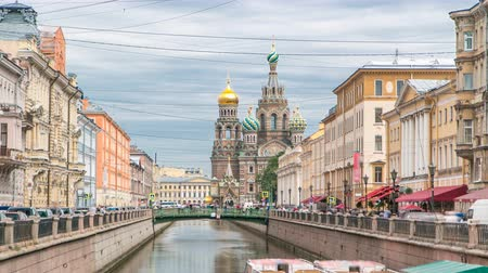 bibliai : Church of the Savior on Spilled Blood timelapse.