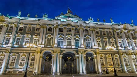winter palace : Winter Palace in Saint Petersburg timelapse hyperlapse