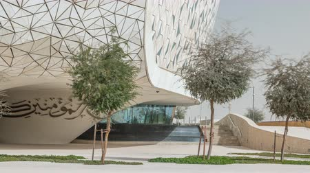 faculty : View of the Education City Complex timelapse launched by the Qatar Foundation in Doha.