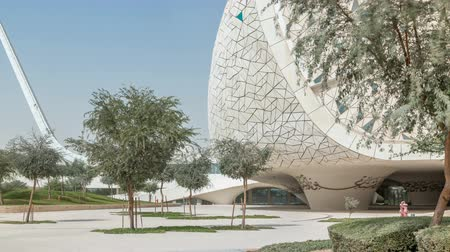 mosque doha : View of the Education City Complex timelapse launched by the Qatar Foundation in Doha.