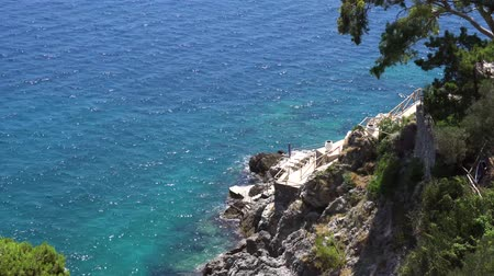 amalfitana : Tyrrhenian Sea coast view , Amalfitana coast of Italy