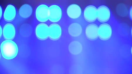 zahmetsiz : Abstract background with blinking bokeh Lights on stage during live music concert Stok Video