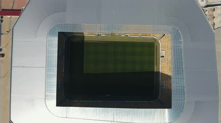 Aerial view of Lviv Stadium Ukraine