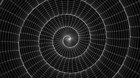helezon : Hypnotizing Continuously Spinning Cage Construction