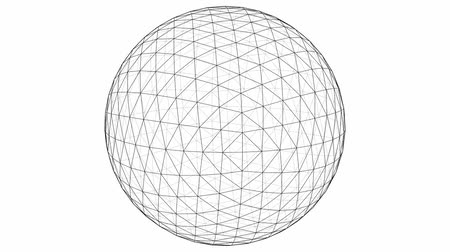 matemática : From Octahedron To The Ball Sphere Lines Animation  Vídeos