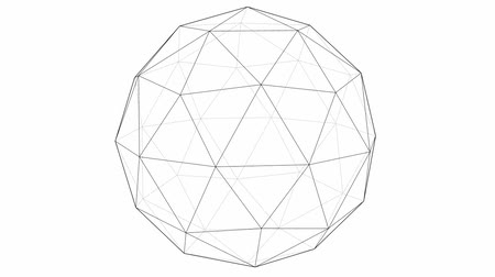 orbe : From Icosahedron To The Ball Sphere Lines Animation