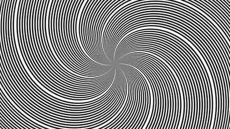 paralelo : Hypnotic Rhythmic Movement Black And White Stripes