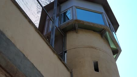 farpado : prison observation tower, bottom view. watchtower