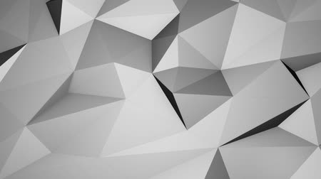 ruit patroon : Bright Light Low Poly Patroon, naadloze looping Achtergrondpatroon Motion Design