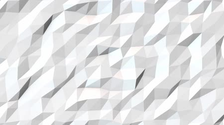 секунды : White Polygonal Geometric Surface Loop. Background motion design, seamless looping. HD resolution. 20 seconds.