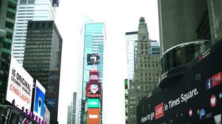 pěšina : Times Square at daytime