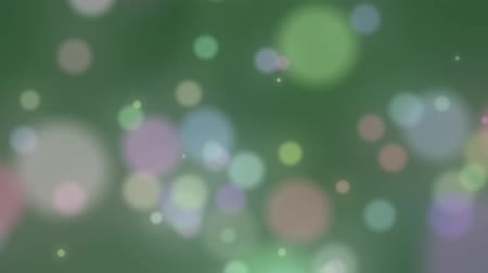 shiny : Abstract Lights bokeh background isolated with nice background color Stock Footage