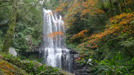 mianmar : Autumn Yunshen waterfall in New Taipei City Sanxia District, New Taipei City, Taiwan