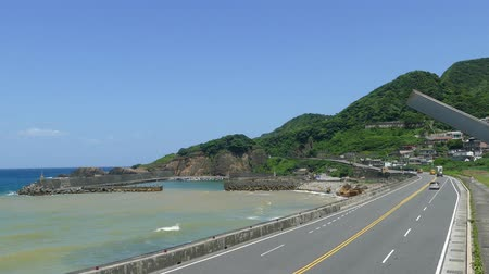 Taiwan, New Taipei City, Ruifang District, the famous Keelung Mountain and Shuiyudong Area