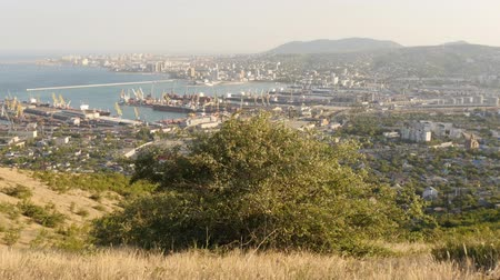 nisan : View on Novorossiysk bay, Black Sea